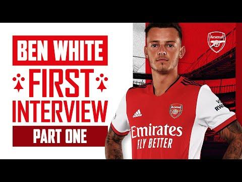 '¡Estoy emocionado de estar aquí!'  |  Primera entrevista de Ben White como jugador del Arsenal