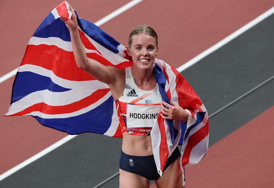 Hodgkinson batió el récord británico, que se había mantenido desde 1995