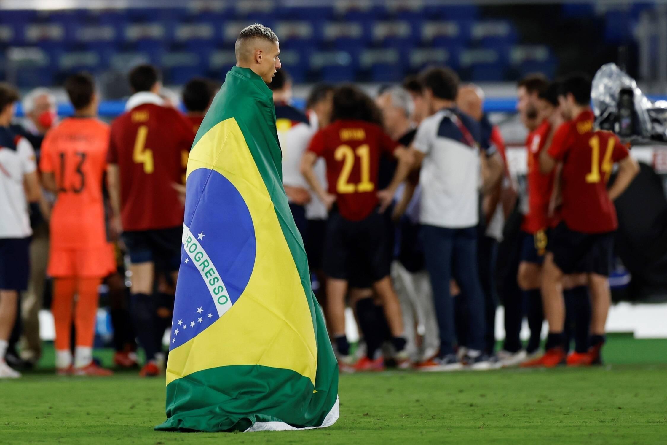 La estrella del Everton comenta sobre ganar la medalla de oro para Brasil