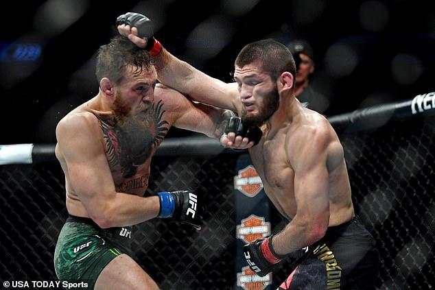 McGregor y Habib lucharon en un octágono en 2018, con los rusos a la cabeza