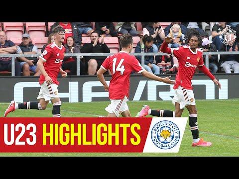 Destacados del U23    Manchester United 2-2 Leicester City    La Academia