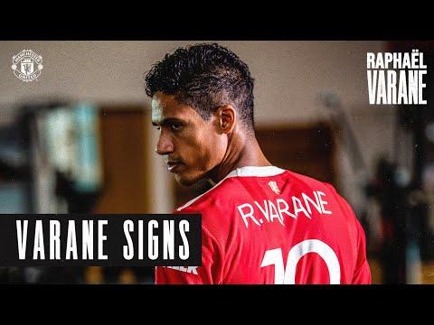 ¡Bienvenido al Manchester United Raphael Varane!     Nuevos fichajes 2021/22