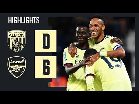 DESTACADOS    West Brom vs Arsenal (0-6)    Copa Carabao    Aubameyang (3), Pepe, Saka, Lacazette