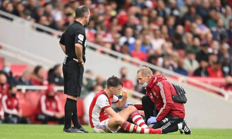 El Arsenal proporciona actualizaciones sobre lesiones en Saka, Tierney y más antes del Man City