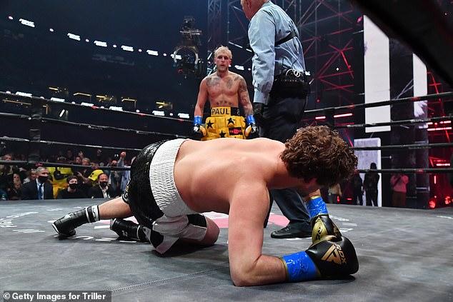 Paul derrotó a Ben Askren la última vez que subió al ring para su tercera victoria hasta el momento.