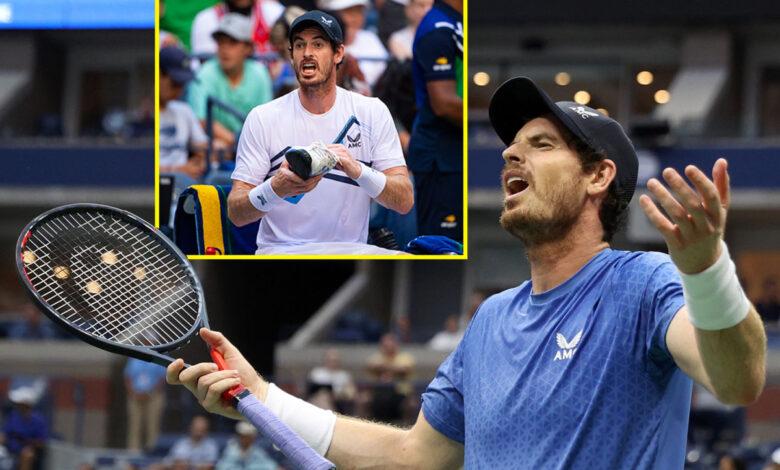 Andy Murray hace un reclamo de trampa, despotrica sobre Stefanos Tsitsipas y suda a través de los zapatos en la épica de cinco sets del US Open