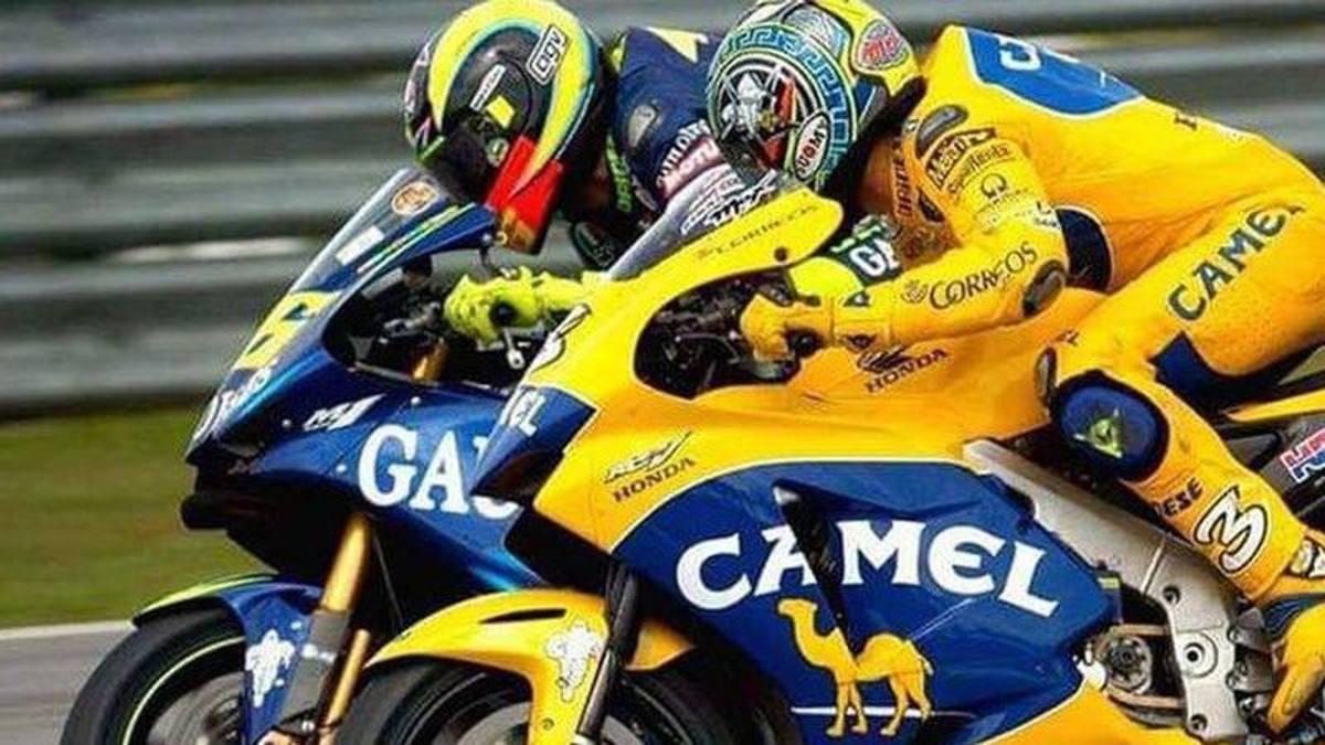 """Biaggi: """"Rossi y yo nunca hemos sido amigos, ¡pero qué rivalidad!  Tal vez tomemos un vaso """""""