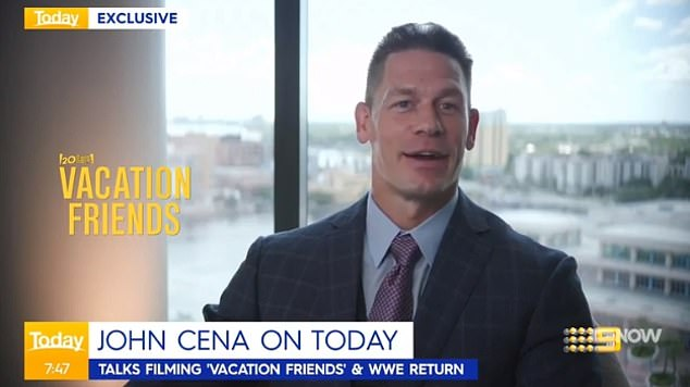 Positividad: el luchador de la WWE convertido en actor John Cena (John Cena) dijo en el Today Show de Australia el martes que se espera que su nueva película