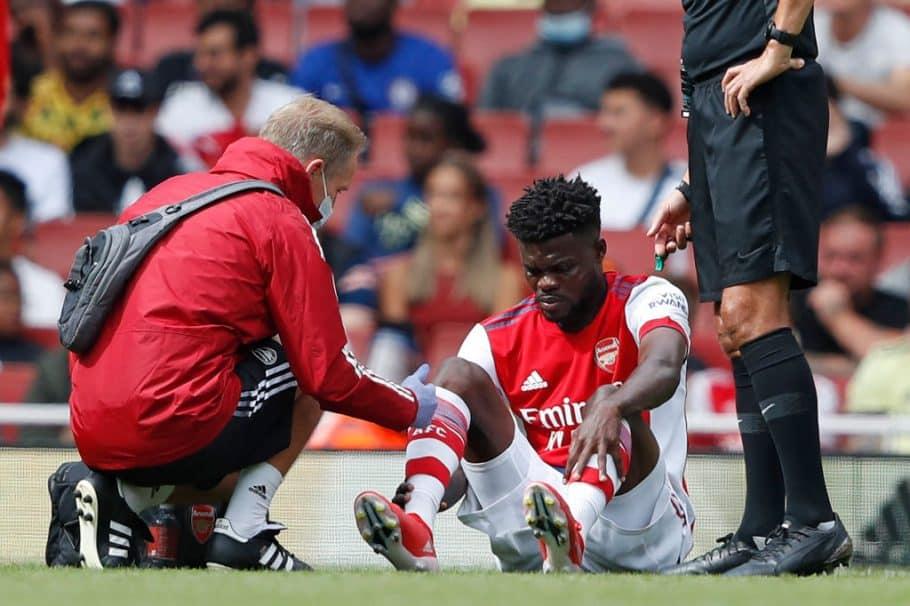 Thomas Partey, del Arsenal, recurre a las redes sociales para proporcionar información actualizada sobre la recuperación de lesiones