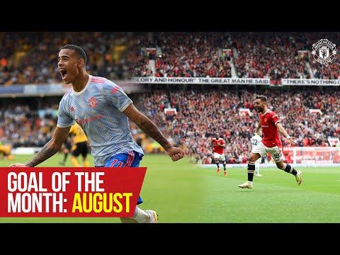 Objetivo del mes: agosto de 2021 |  Greenwood, Fernandes, McNeill, Gore y más |  Manchester unido