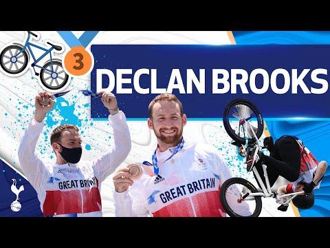 ¡El MEDALISTA OLÍMPICO y ESTRELLA DE BMX Declan Brooks hace una visita sorpresa al estadio Tottenham Hotspur!