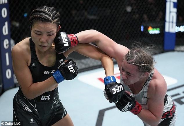 El sucesor del jugador surcoreano Kim Ji-yeon a Mackenzie