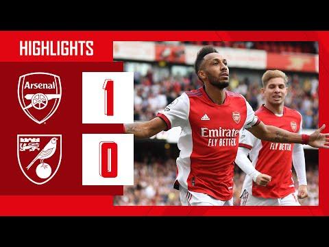 DESTACADOS |  Arsenal vs Norwich (1-0) |  Aubameyang con el ganador y Tomiyasu hace su debut