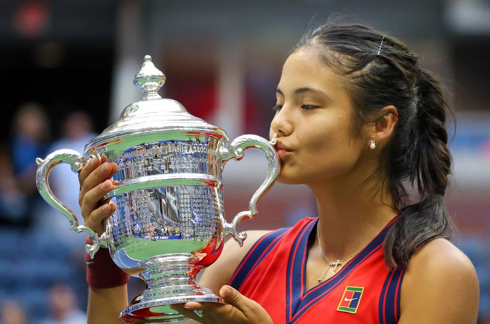 Raducanu hizo historia en el tenis el fin de semana al ganar el US Open