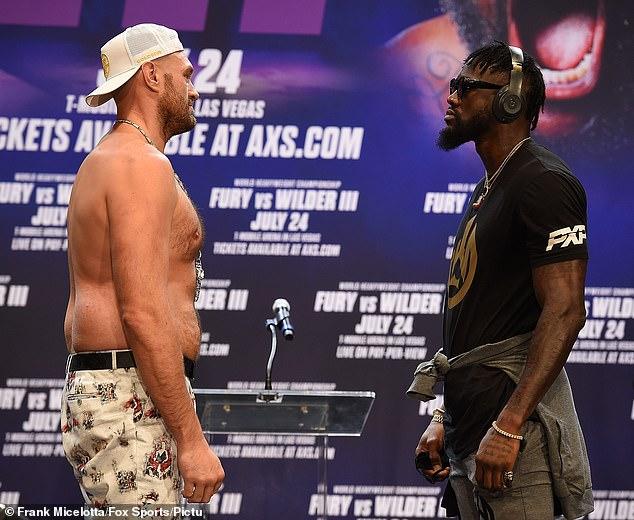 Los dos rivales de peso pesado se enfrentarán por tercera vez en Las Vegas el 9 de octubre.
