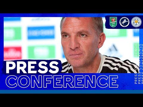 """""""Quiero hacerlo bien en las competiciones de copa"""" - Brendan Rodgers    Millwall contra Leicester City"""