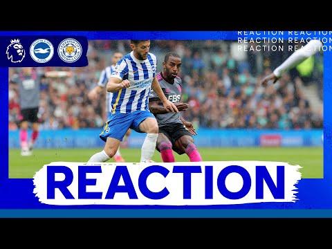 """""""Necesitamos aprender de nuestros errores"""" - Ricardo    Brighton 2 Leicester CIUDAD 1"""
