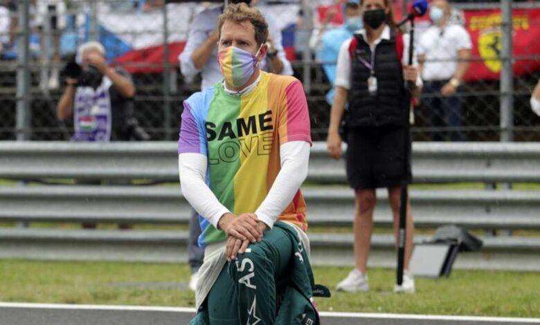 F1, Sebastian Vettel y la camiseta LGBT en el GP de Hungría: las palabras del piloto alemán sobre derechos humanos