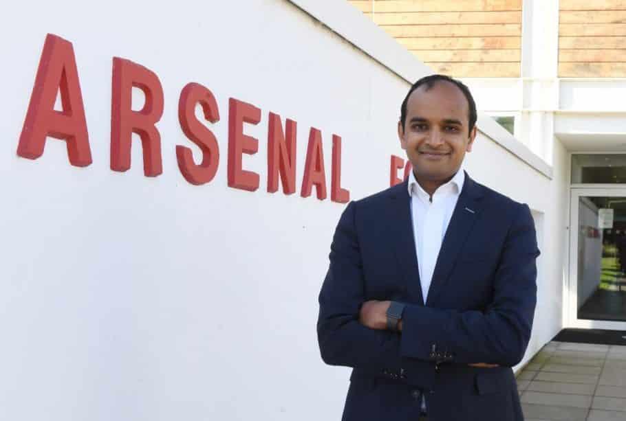 Lo que el director ejecutivo del Arsenal, Vinai Venkatesham, dijo al personal del club luego del cierre de la ventana de transferencia