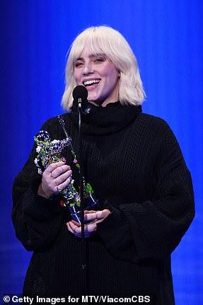 Billie gana: Billie Eilish gana el premio Video for Good por su poder