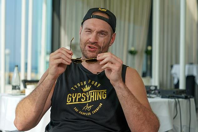 Tyson Fury ha prometido noquear brutalmente a Deontay Wilder cuando pelee con él el próximo mes