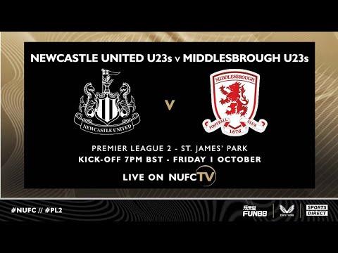 Newcastle United 4 Middlesbrough 1    Liga Premier 2
