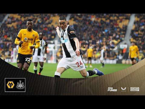 Lobos 2 Newcastle United 1    Lo más destacado de la Premier League