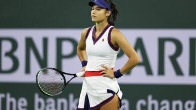 Emma Raducanu admite que 'necesito dejarme un poco de holgura' ya que pierde el primer partido desde el US Open y fuera de Indian Wells