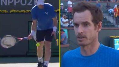 Andy Murray defiende el servicio en las axilas como 'juego inteligente' después de ser abucheado en Indian Wells, mientras la estrella británica lucha de regreso para vencer a la sensación adolescente Carlos Alcaraz en tres sets.