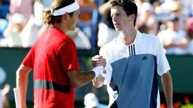 'Roger Federer estaba en su pináculo, era demasiado bueno para mí'
