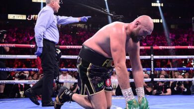 Las luchas de fitness de Tyson Fury han quedado al descubierto después de su victoria contra Deontay Wilder