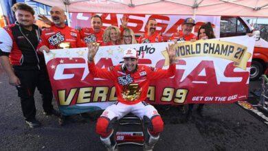 Enduro, campeón del mundo de Verona en E1.  Triunfos de García (E2) y Freeman (E3)