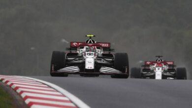 F1, Giovinazzi y Alfa Romeo cada vez más distantes: y ese 'no' en Turquía ...