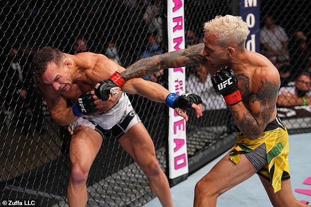 Chandler, de 35 años, perdió en mayo en UFC 262 en una batalla por el título con Charles Oliveira.