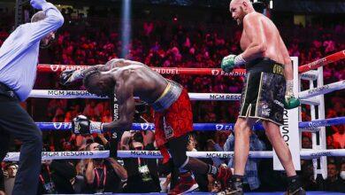 Tyson Fury retuvo su cinturón del CMB con una victoria por detención empática sobre Deontay Wilder