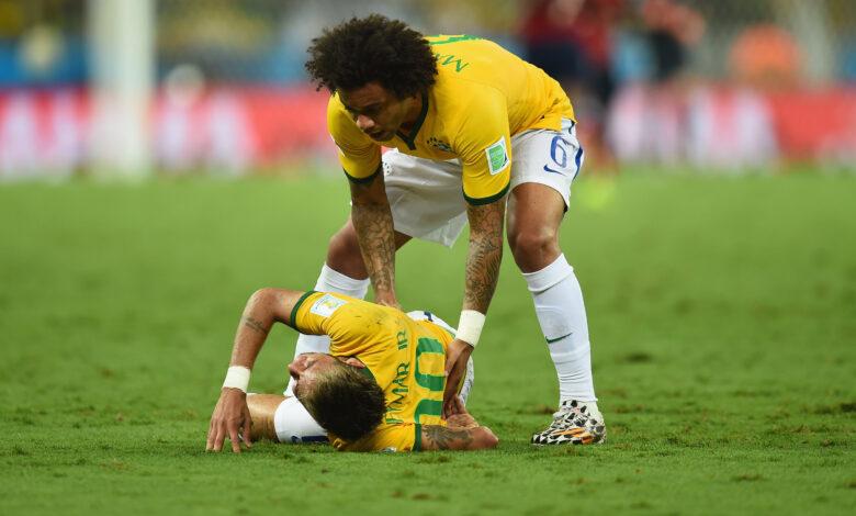 Neymar relata grave lesión en el Mundial de Brasil 2014